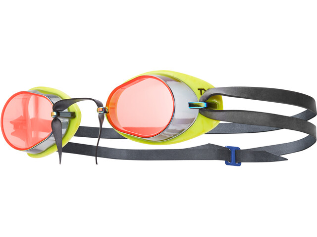 TYR Socket Rockets 2.0 Mirrored Goggles red/yellow